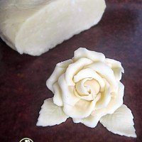 Cioccolato plastico bianco (ricetta con il miele)