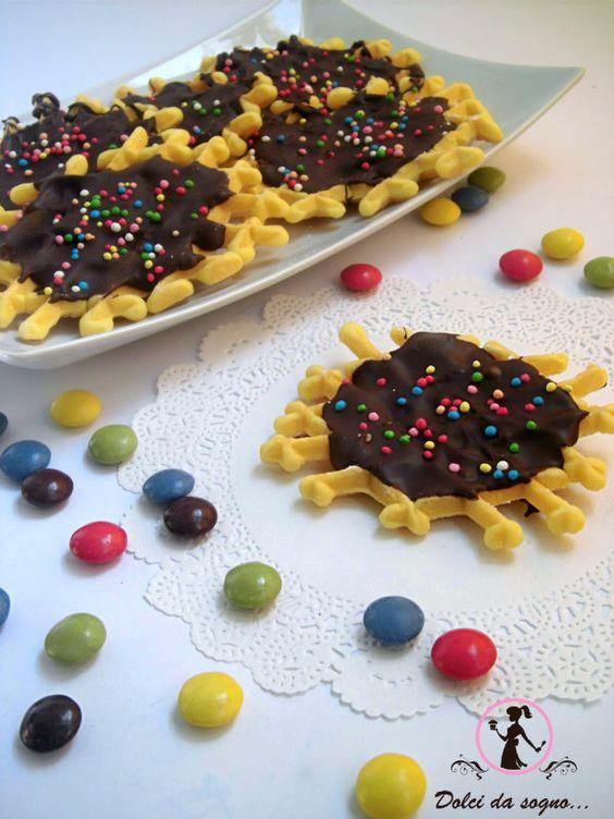 Neole con il cioccolato