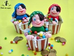 I cupcake dei pirati