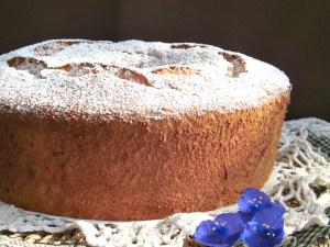 angel cake ciambellone americano