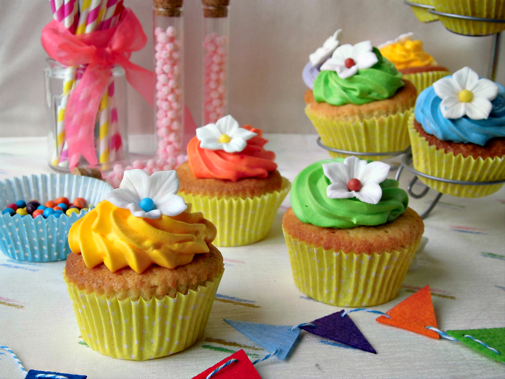 cupcakes colorati e allegri