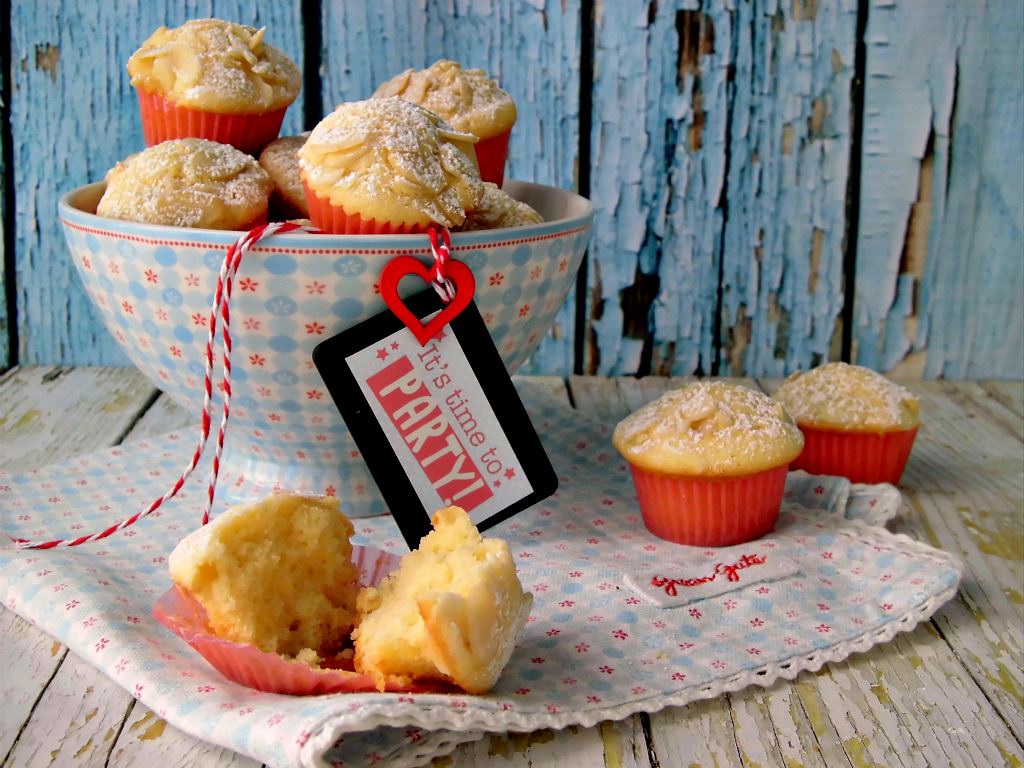 Mini muffin alle mandorle