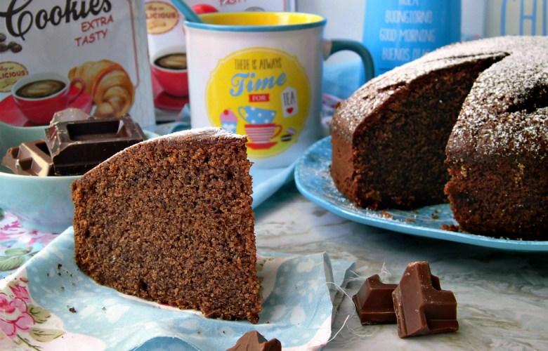 Torta al cioccolato e aquafaba