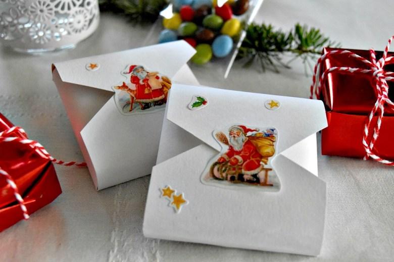 scatoline segnaposto natalizie