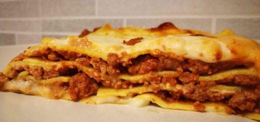 le mitiche lasagne al ragù del nonno Antonio
