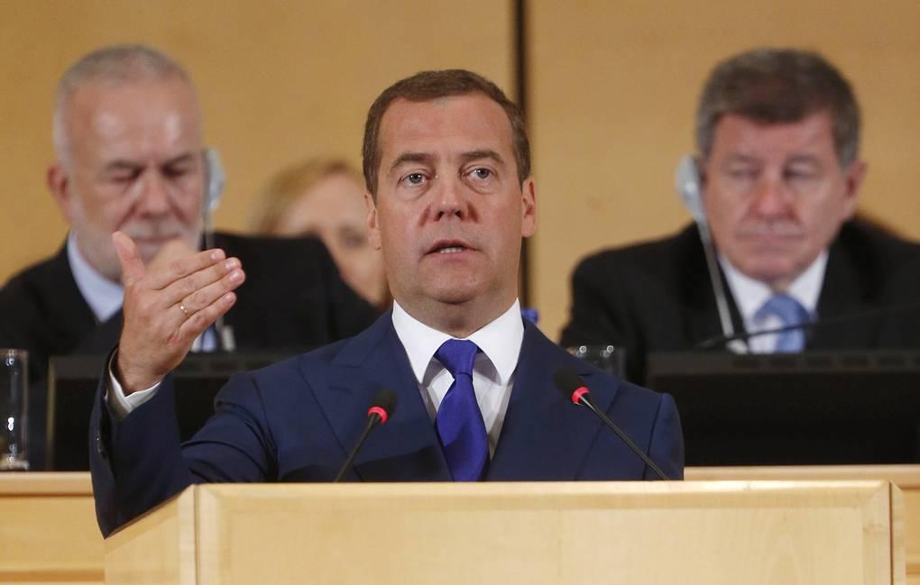 Медведев в Женеве