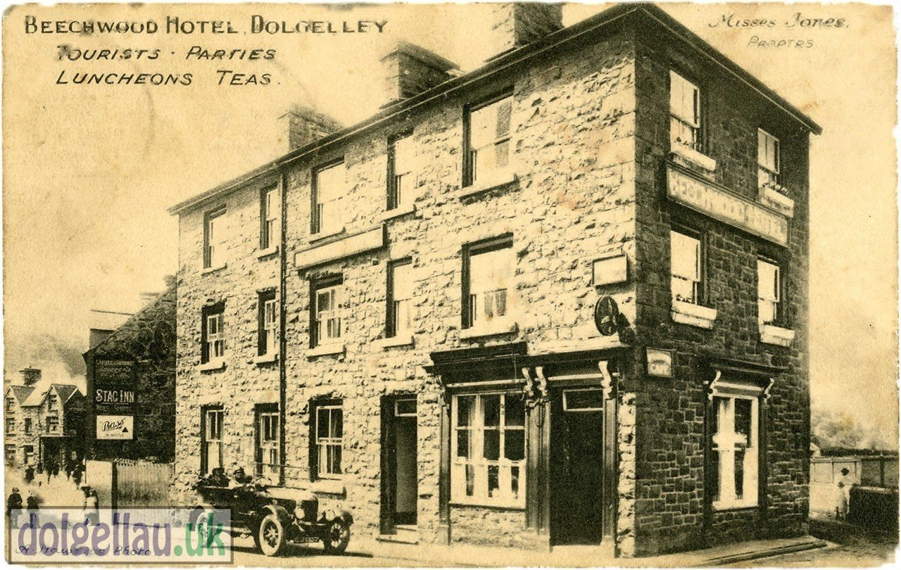 Beechwood Hotel Edwardian Postcard