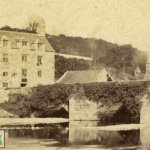 An Albumen Photograph of the Hen and Chickens Inn circa 1859.