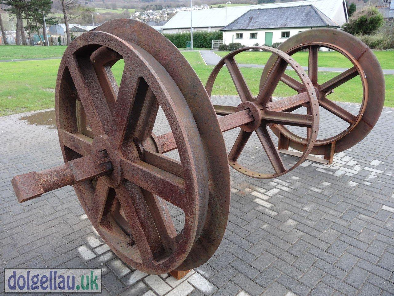 Dolgellau Parc - Winding Drum Wheel
