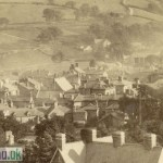 Albumen Photograph of Dolgelly from the 1880s (Close-Up 3)
