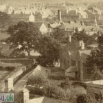 Albumen Photograph of Dolgelly from the 1880s (Close-Up 4)