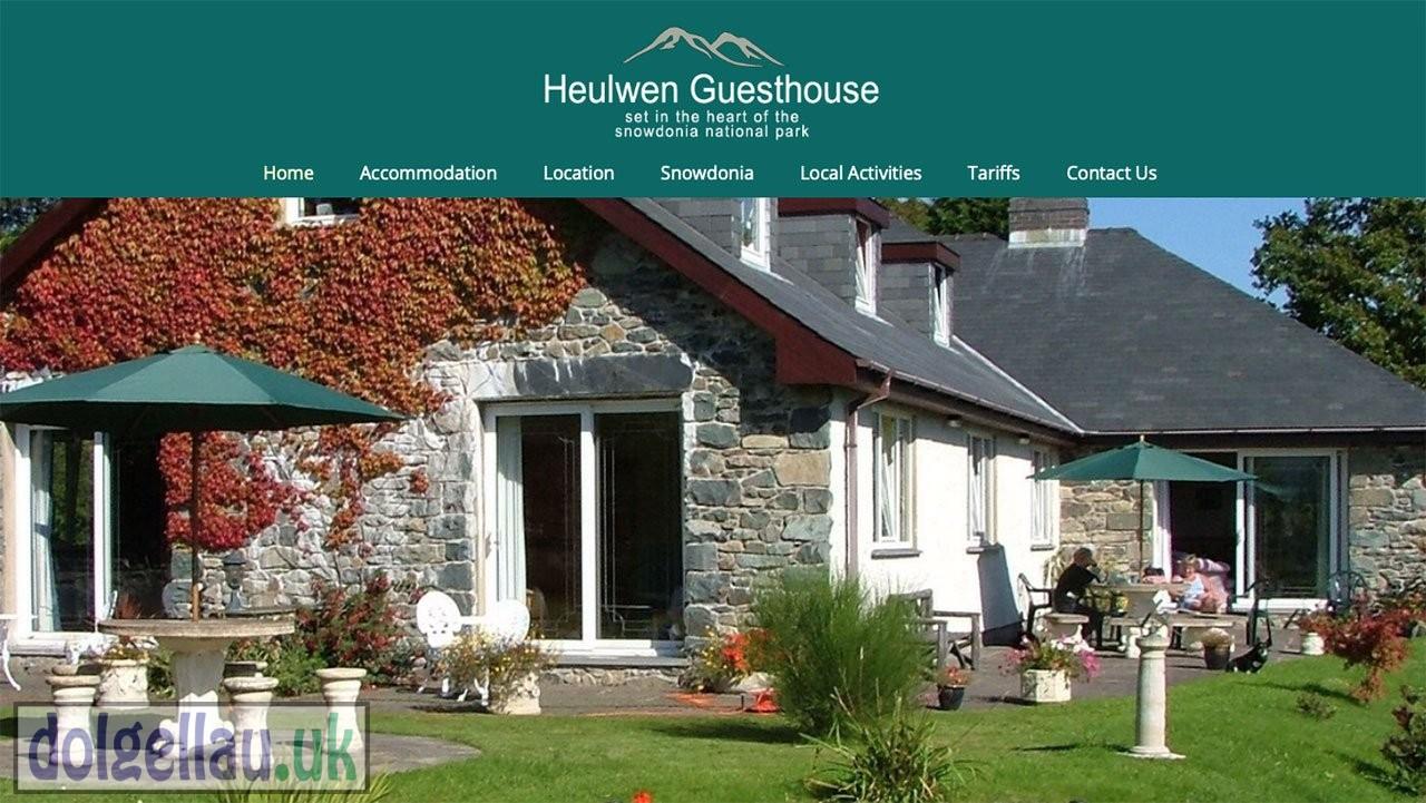 Heulwen Guest House, LLANFACHRETH. LL40 2EB