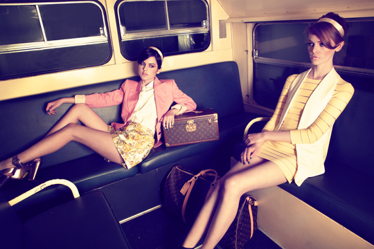 Ana Burea for SS13 Louis Vuitton | Copyrights http://www.elitelisbon.com