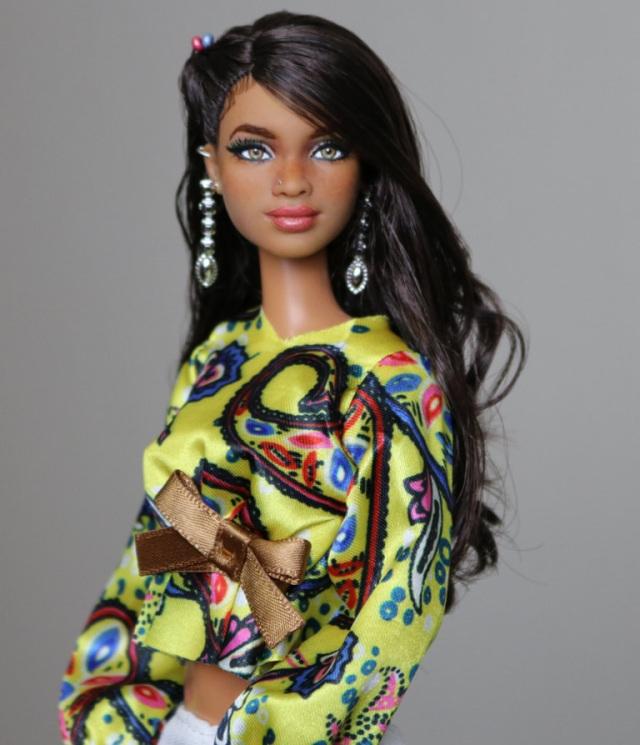 Teigen- Biracial HYBRID Customized OOAK Barbie Doll by ...