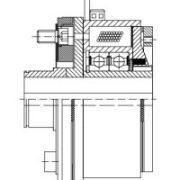 Elektromagnet-Doppelzahnkupplung FOZVAM 10-63