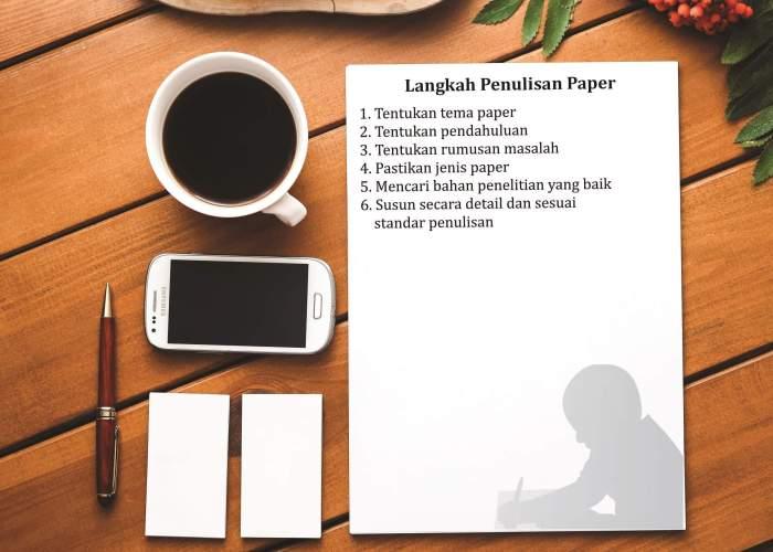 Contoh Paper Langkah Penulisan Paper