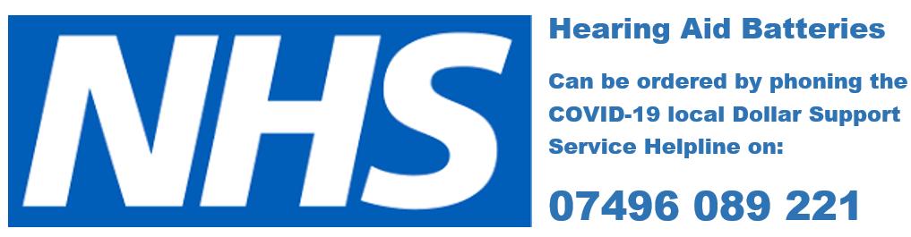 NHS hearing aid batteries