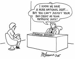bad credit from national debt