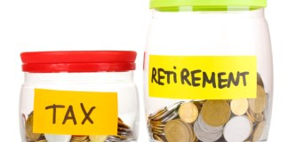retirement money and retirement taxes