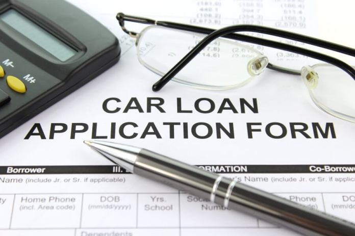 Application form for car loans for people with bad credit