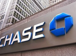 chase mortgage logo on a wall