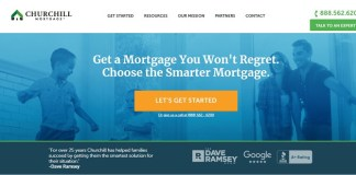churchill mortgage official website