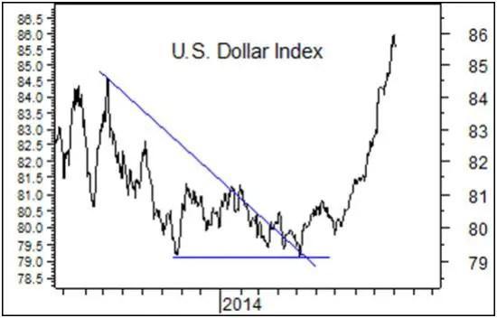 Dollar surge 2014