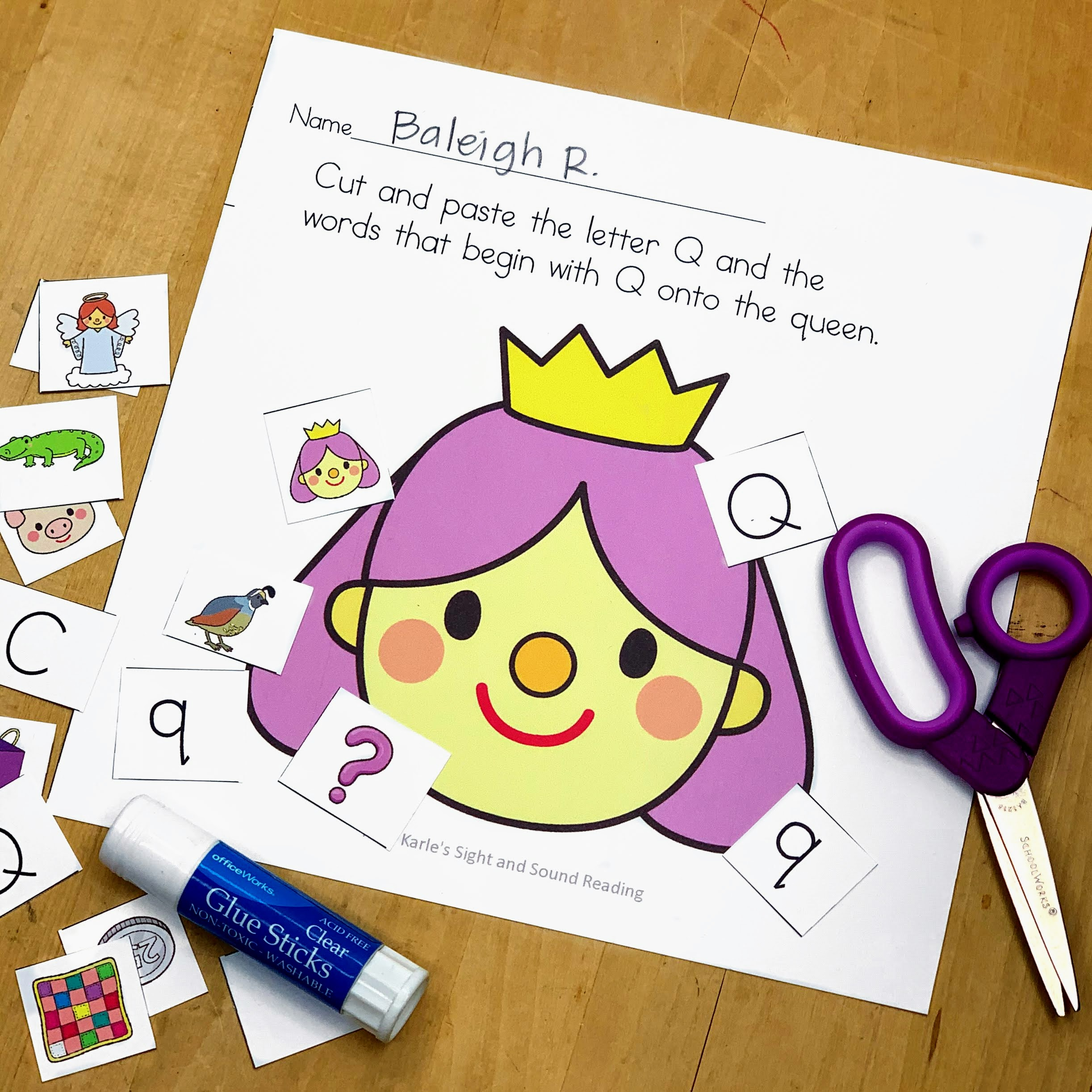 Letter Q Lessons Letter Of The Week Print And Go