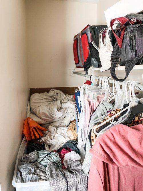 How To Organize A Messy Closet