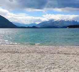 Beach at a lake