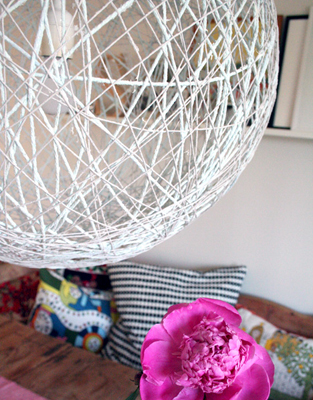 Diy Neon String Wrapped Vases