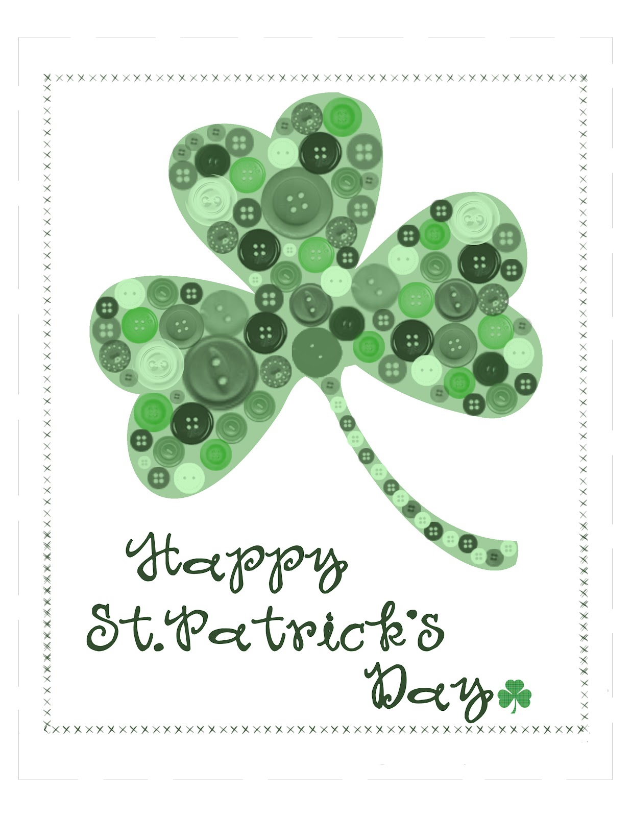 10 Fabulous Free Printables For St Patrick S Day Dollar