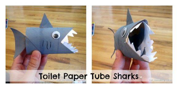 October 2014 marine science institute blog for Toilet paper tube art
