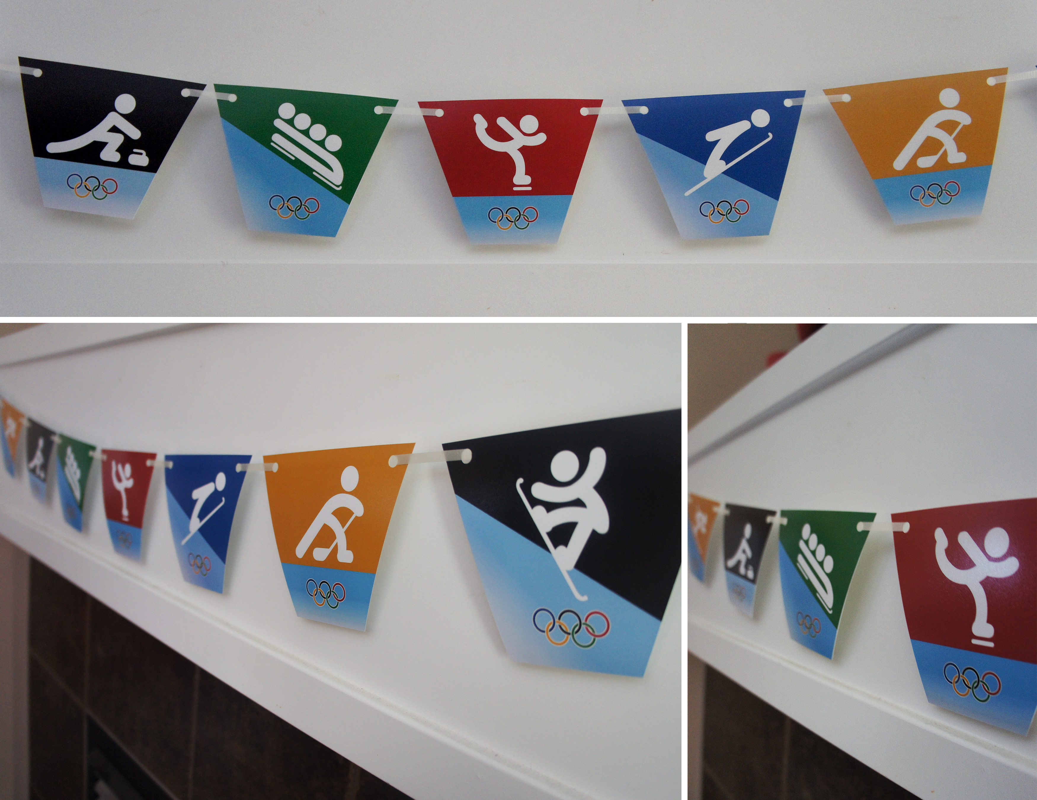 Free Printable Winter Olympics Party Banner