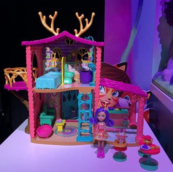 NEW Dcouvrez Le Playset De La Maison De Danessa Deer