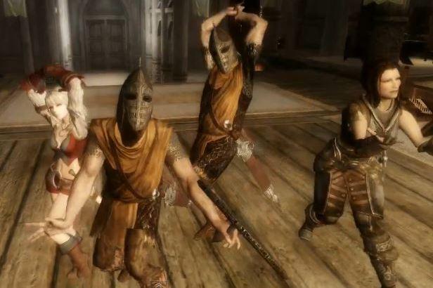 Skyrimの衛兵ちゃんにPokerfaceを踊ってもらった