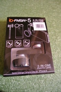 iPhone5のカメラを拡張するカメラレンズキットを買ってみました