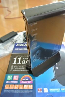 iPad Airの無線改善に効果アリ。NEC WG1800HPをレビュー。