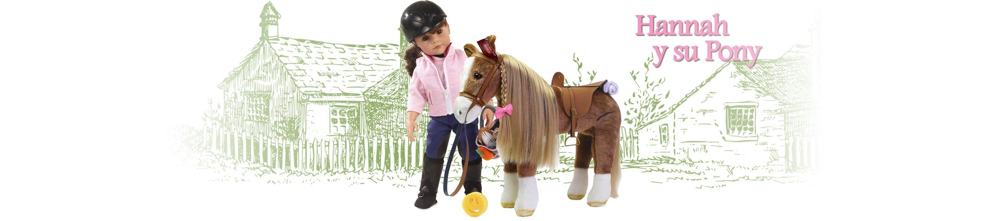 Hannah y su pony – La Semilla