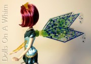Winx Club Jakks Pacific Bloomix Tecna wings profile