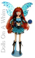 Jakks Pacific Winx Club Special Edition Blue Bloomix San Diego Comic Con front length 2