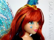 Jakks Pacific Winx Club Special Edition Blue Bloomix San Diego Comic Con heart face makeup 1
