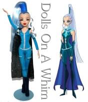 Jakks Pacific Winx Club Original Outfit Icy Good Vs Evil full length front comparison