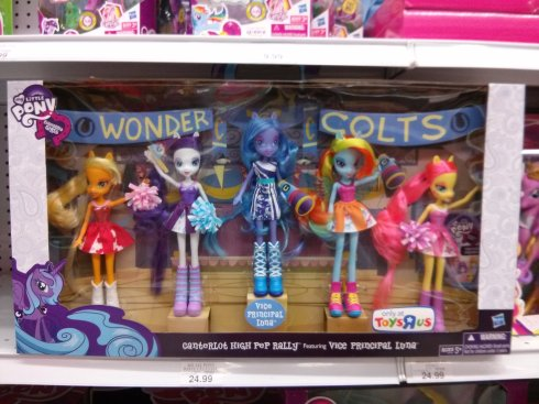5 Pack Equestria Girl Pack