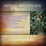 Hotdisc Sept 27th 2015