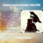 Country Corner October 25th 2015