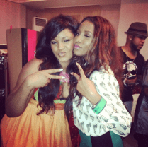 Nollywood divas Genny and Omosexy