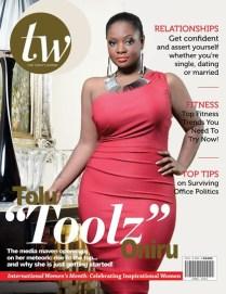 Toolz covers TW magazine