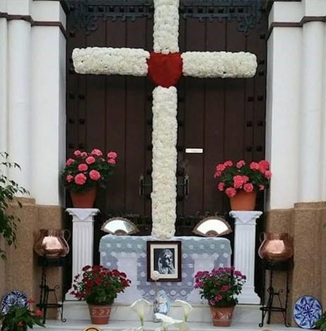 Cruz de mayo Parroquia Dolores Puerto de la Torre