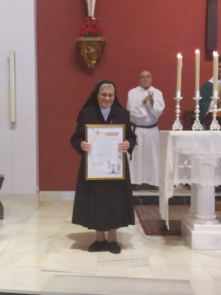 """Madre Dolores nombrada """"Camarera Perpetua"""""""